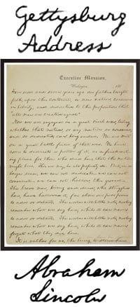 Discours de Gettysburg
