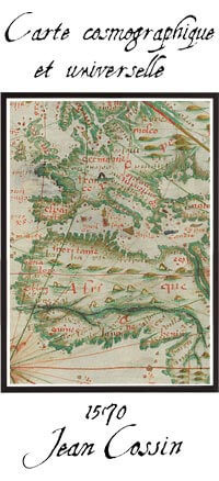 Carte cosmographique et universelle