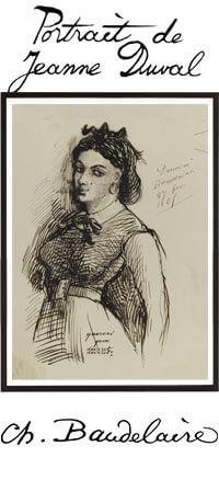 Portrait de Jeanne Duval