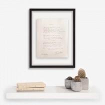 Manuscrit Rondeau Musset