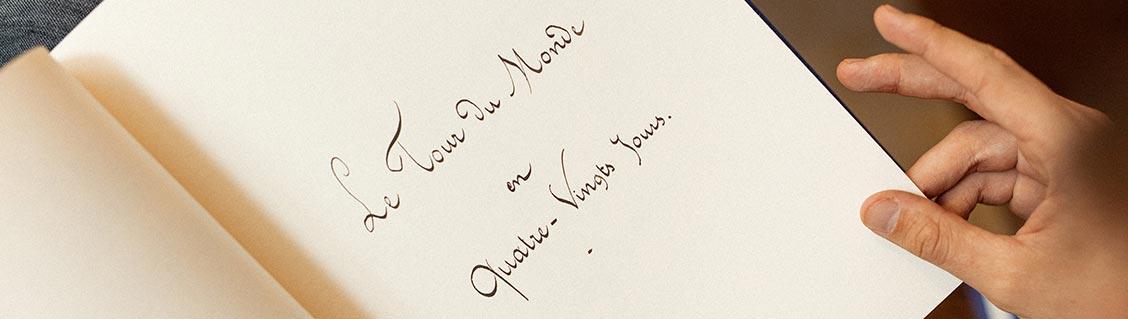 Le Tour du monde en quatre vingt jours, le manuscrit de Jules Verne