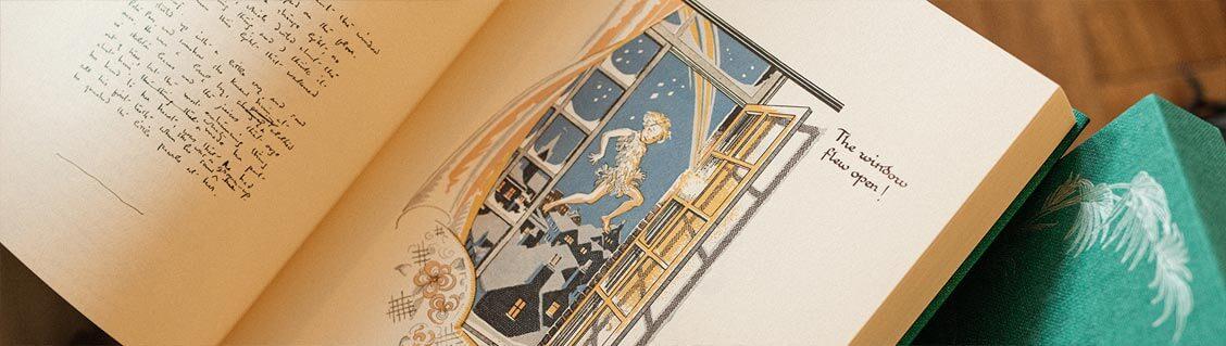 Peter Pan, le manuscrit de James Barrie