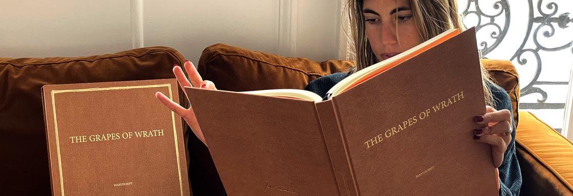 Les Raisons de la colère, le manuscrit de John Steinbeck