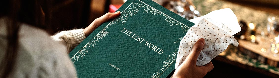 The lost World - le manuscrit du Monde Perdu d'Arthur Conan Doyle