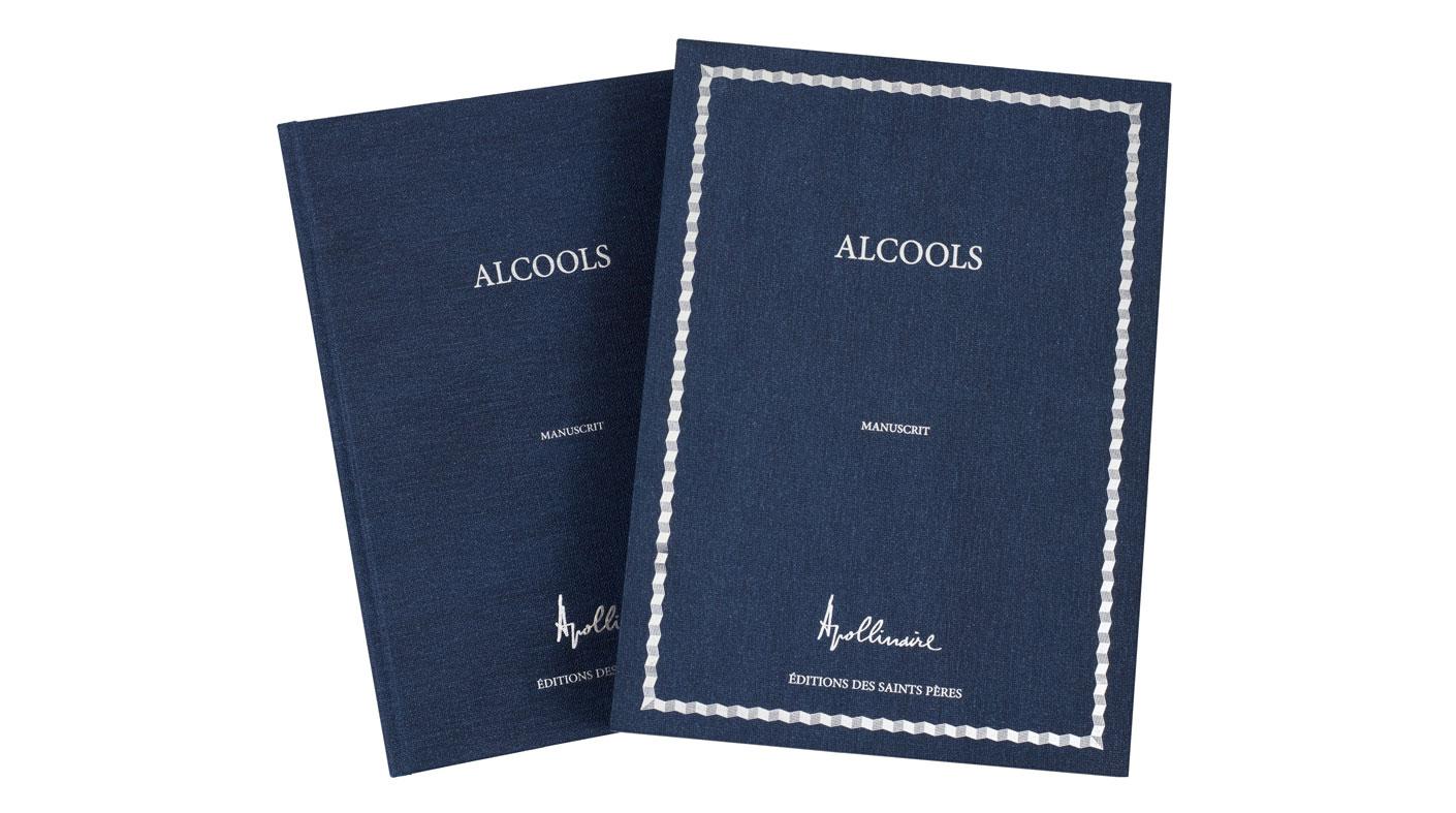 book and slipcase Alcools Apollinaire