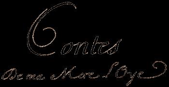 titre manuscrit des Contes de Perrault