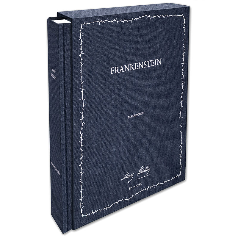 Book and slipcase frankenstein