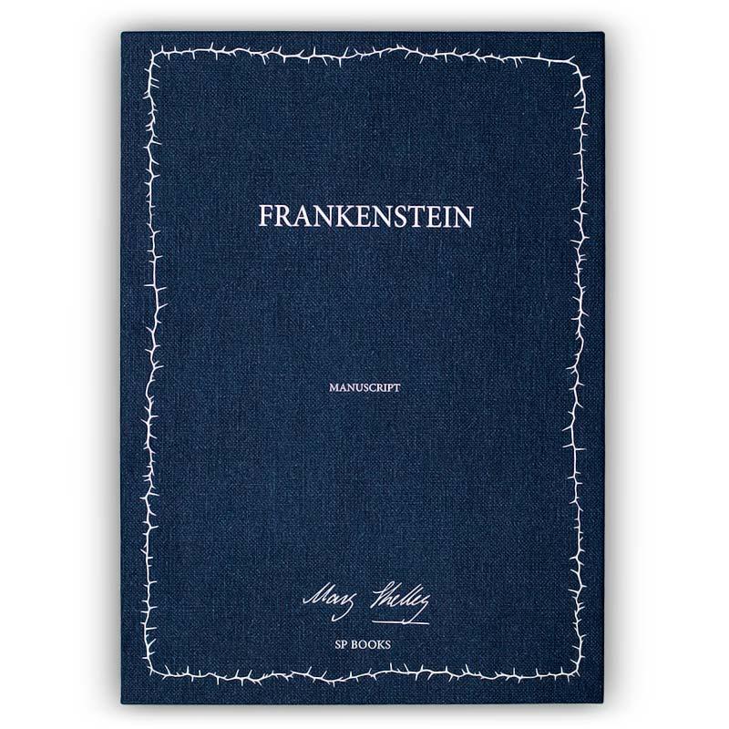 The manuscript of Frankenstein