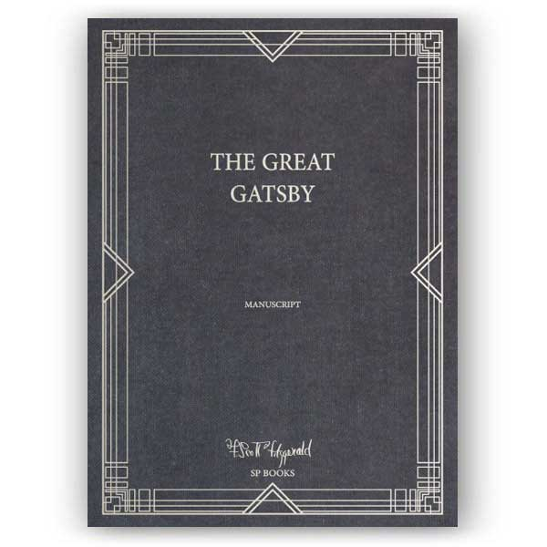 The Great Gatsby Manuscript Cover
