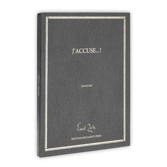 manuscrit Emile Zola