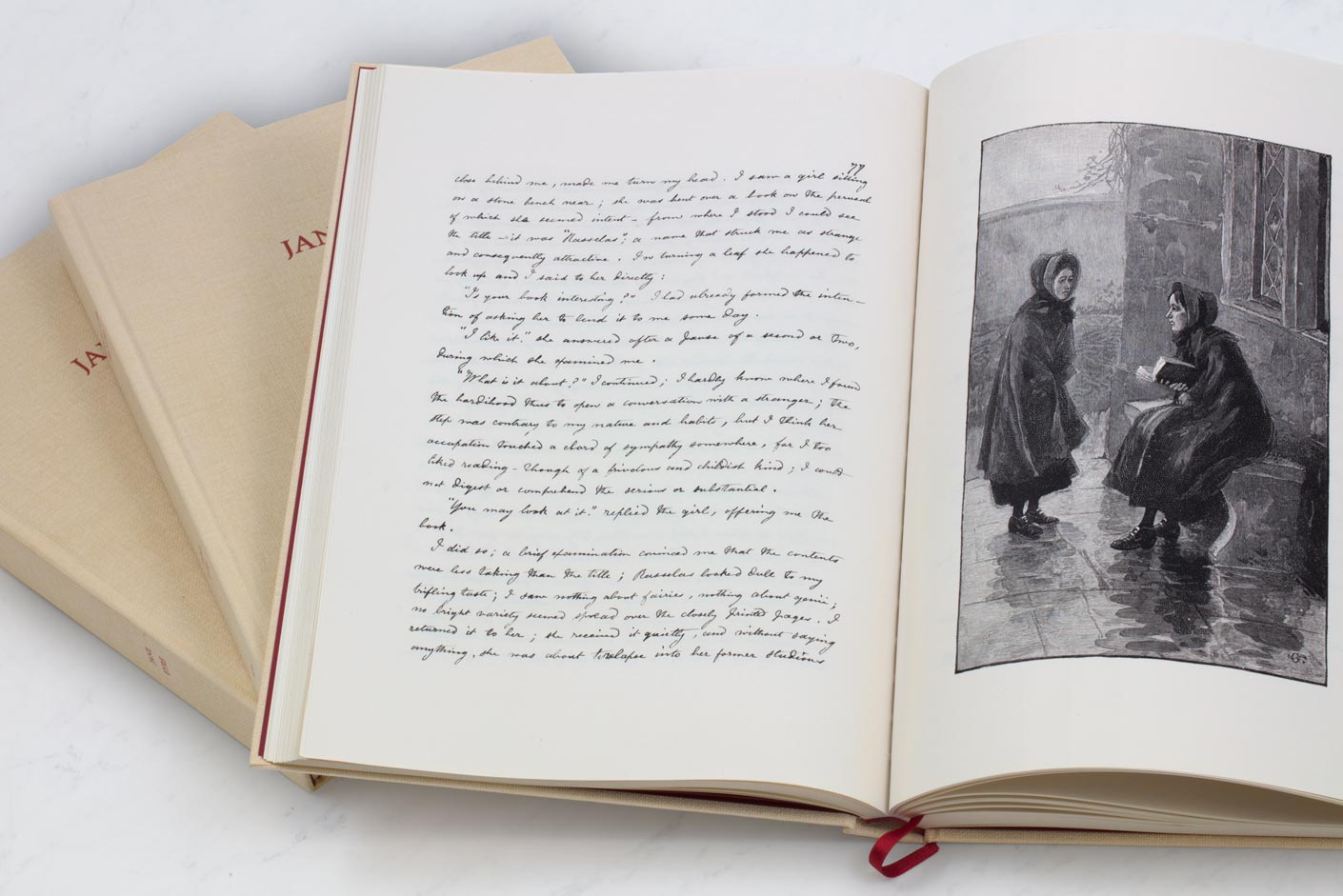 Jane Eyre : book and etchings