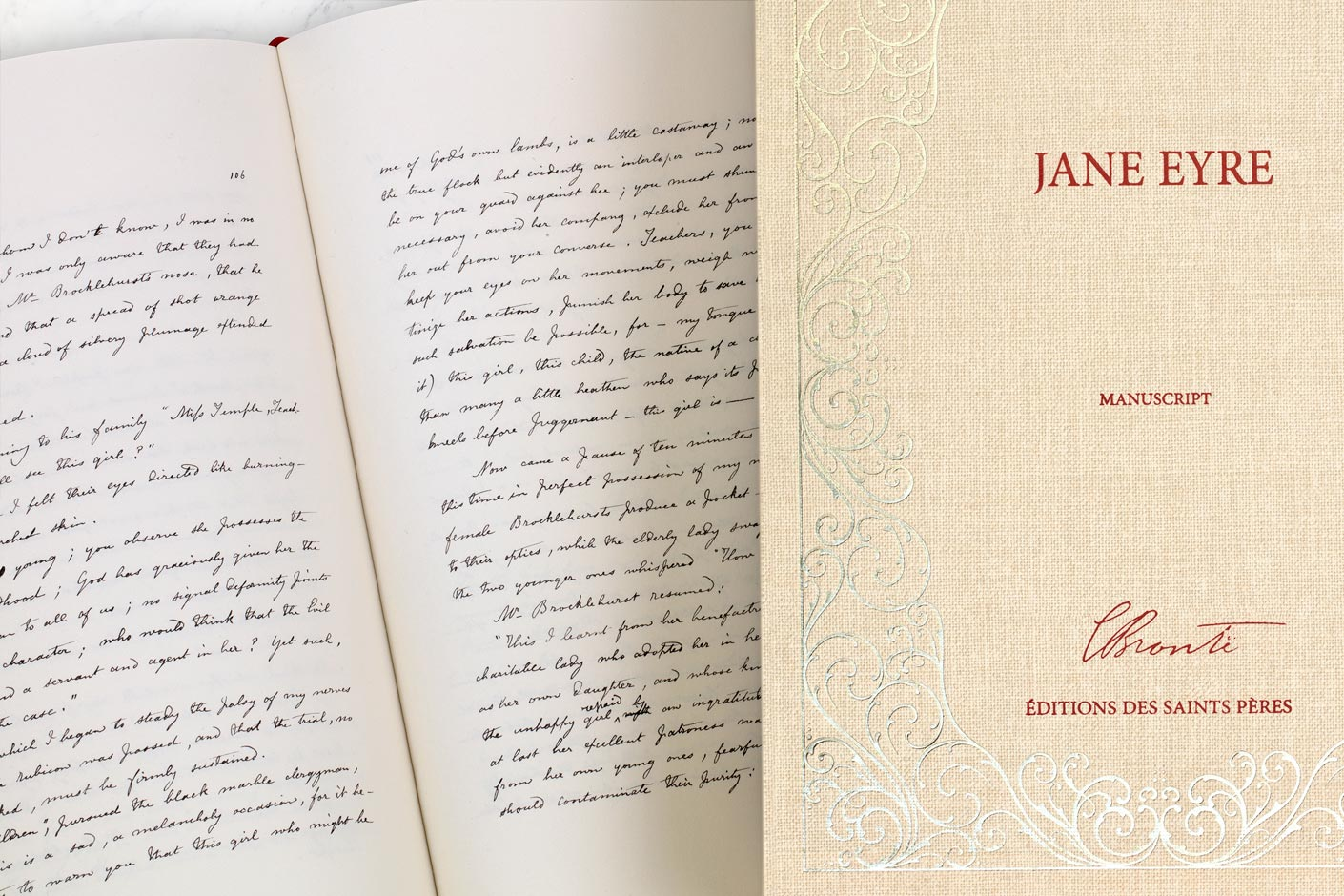 Jane Eyre : manuscript and slipcase
