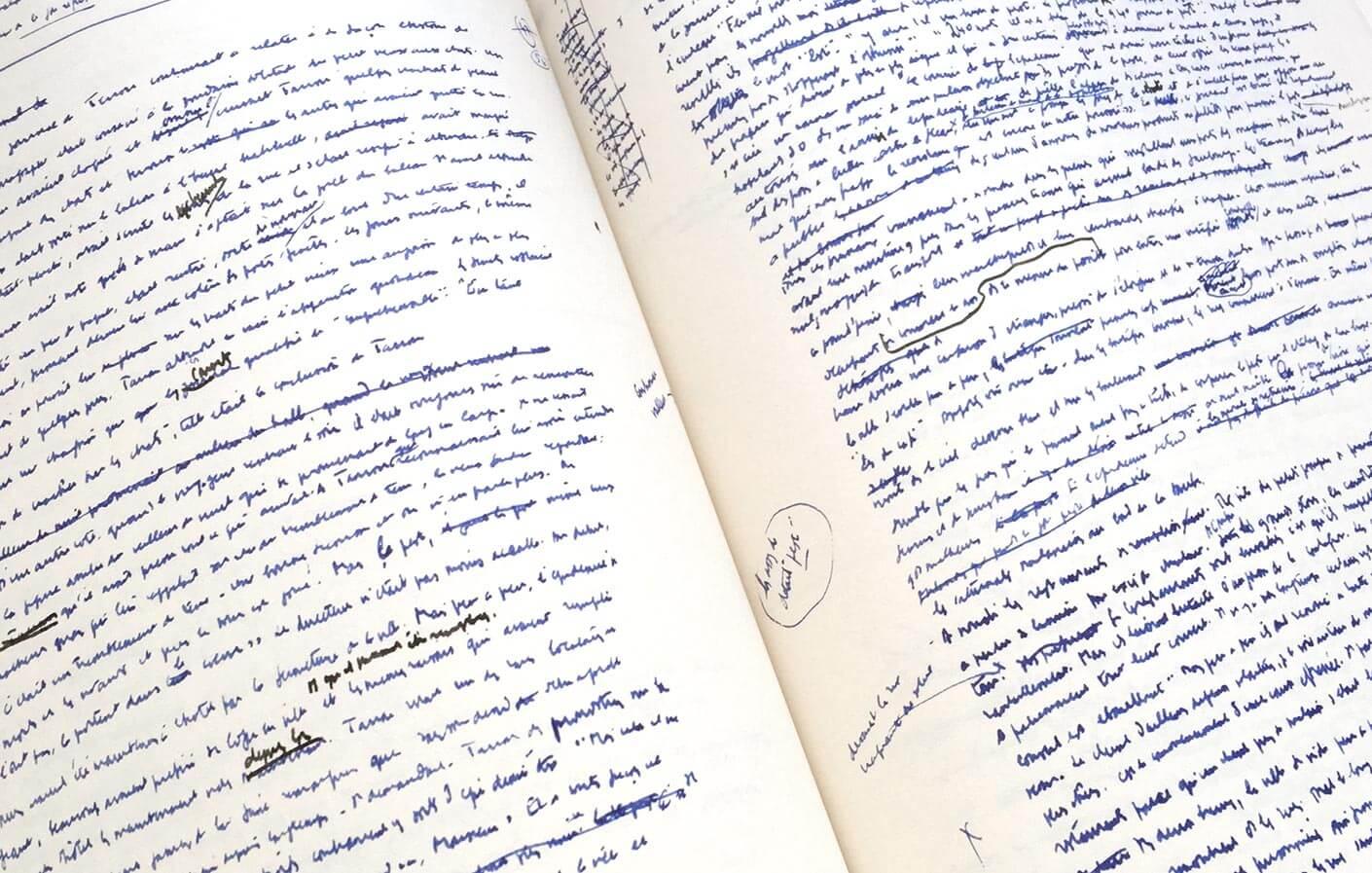 La Peste - Manuscrit