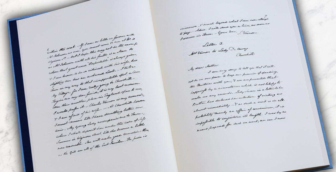 Lady Susan - Jane Austen - le manuscrit
