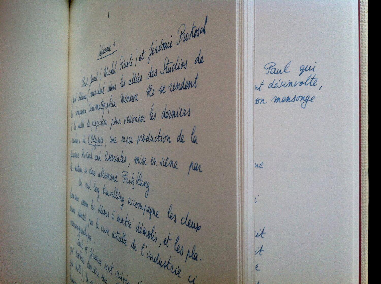 extrait du manuscrit du mépris
