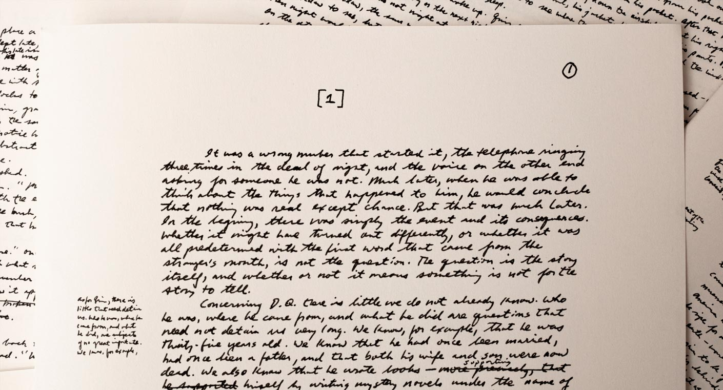 NY Trilogy, le roman de Paul Auster