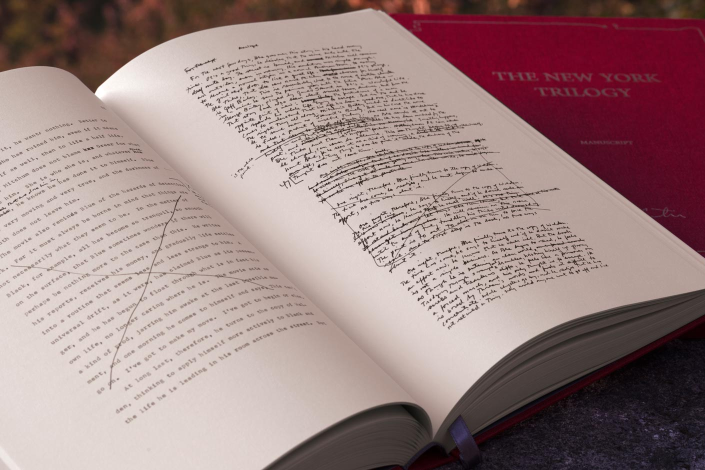 les manuscrits de la Cité de verre, Revenant et La Chambre dérobée