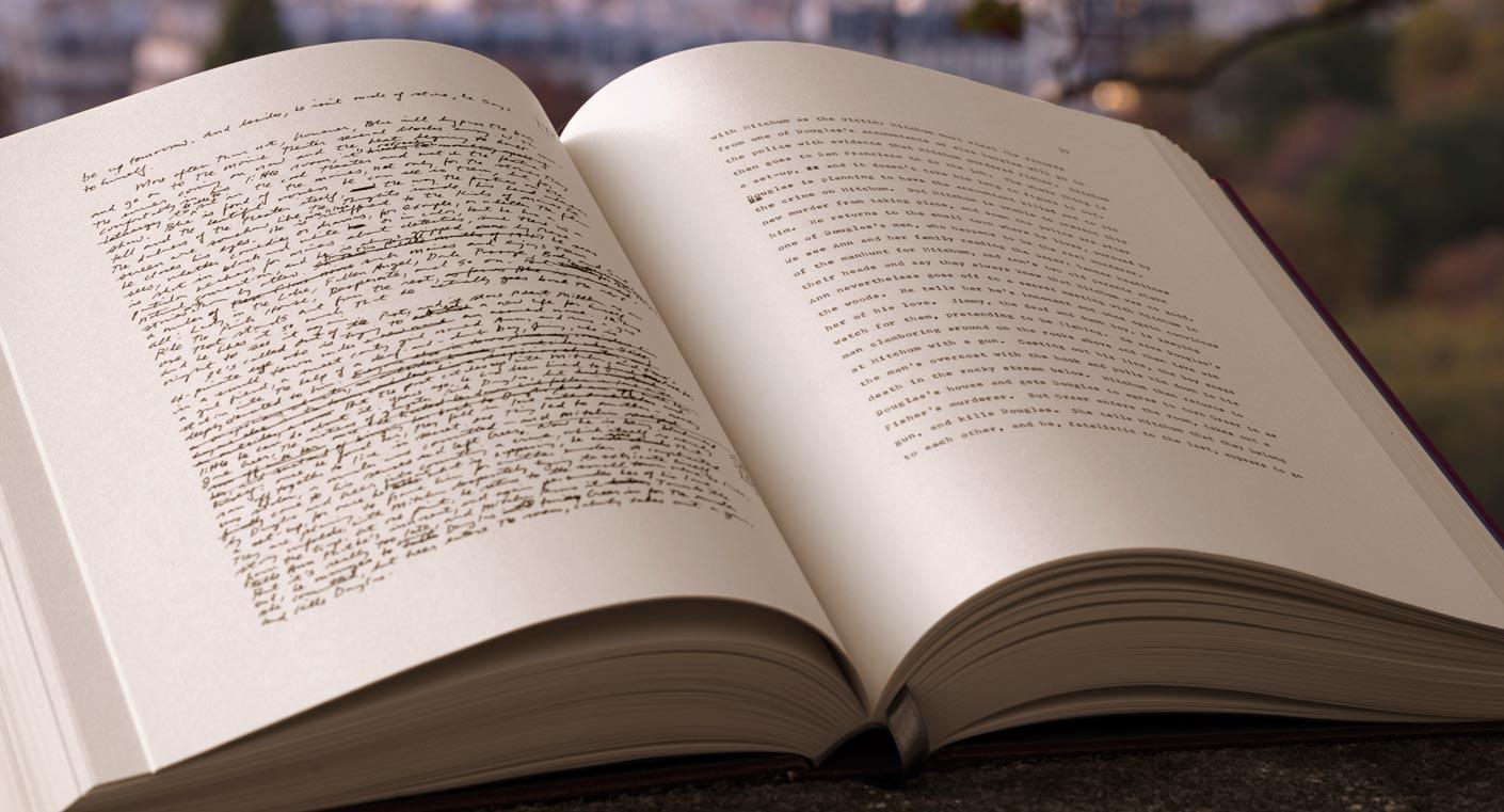 Le manuscrit de la Trilogie New-Yorkaise, de Paul Auster