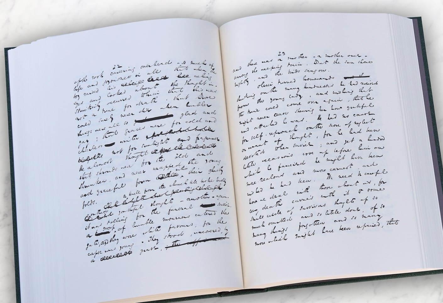 Charles Dickens handwritting