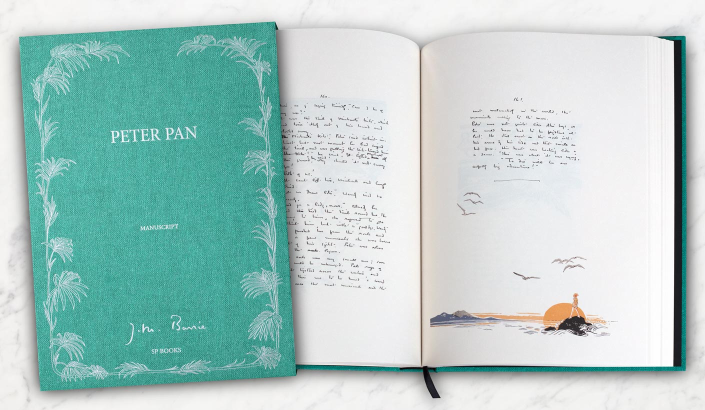 open book Peter Pan