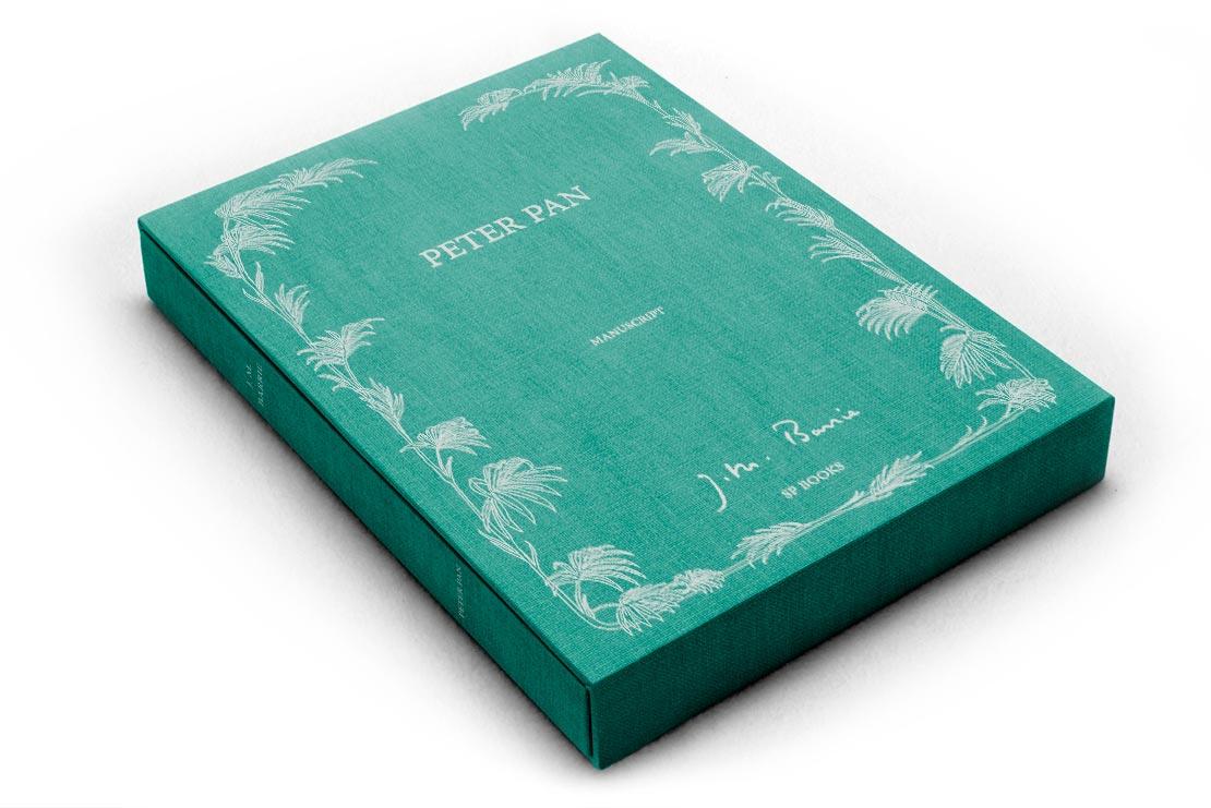 couverture de Peter Pan illustrée par Gwynedd Hudson