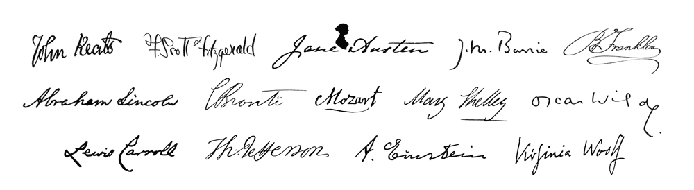 Signatures of the writers (large)