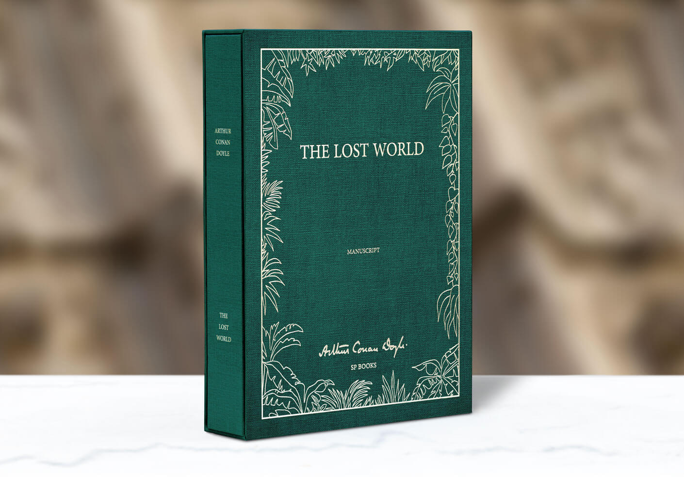 Conan Doyle - manuscript and slipcase