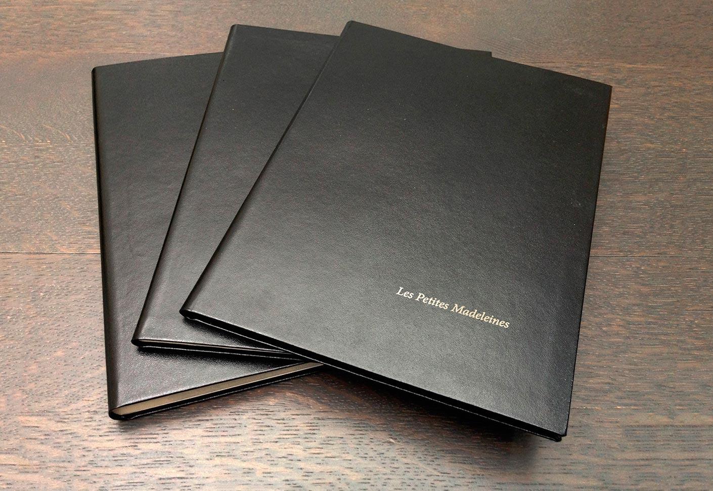 3 petits carnets de Marcel Proust