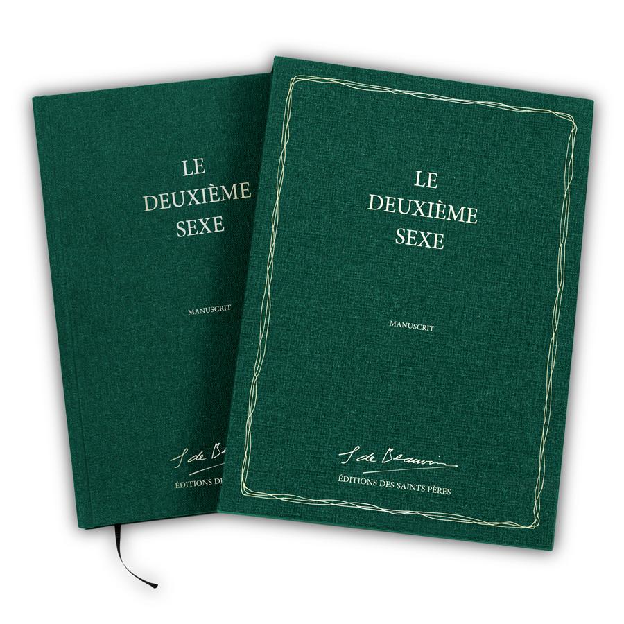 The second sex manuscript by Simone de Beauvoir