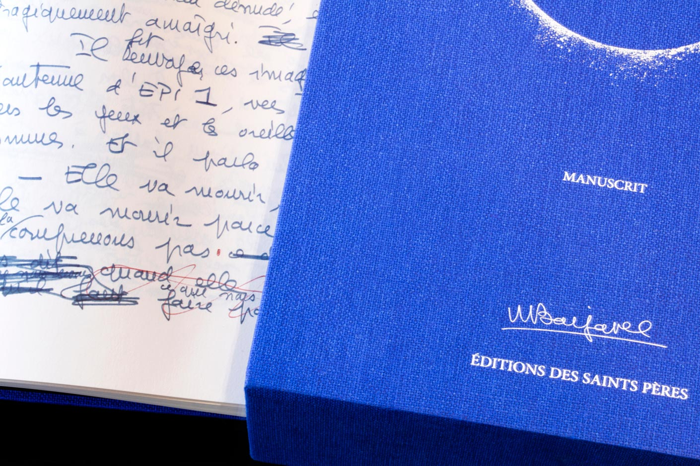 Ecriture manuscrite de Barjavel
