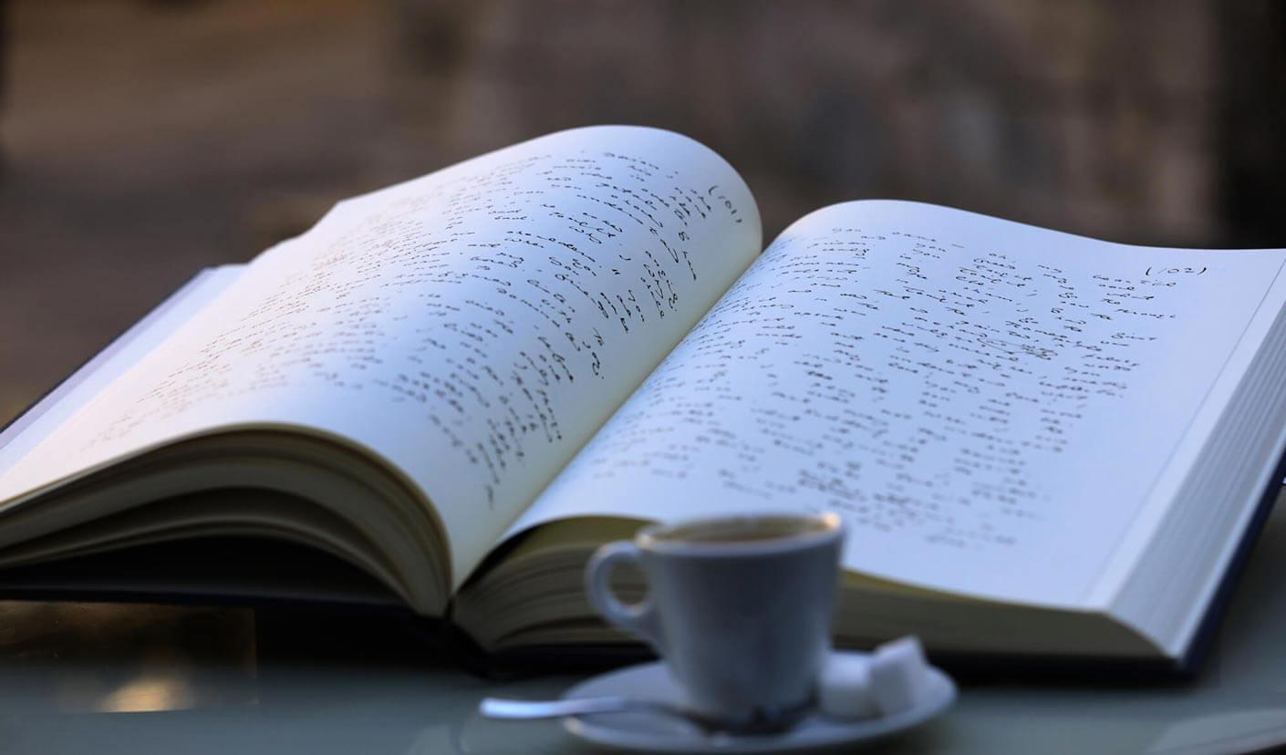The Picture of Dorian Gray - open manuscript