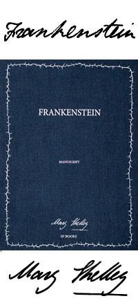 Frankenstein Manuskripte