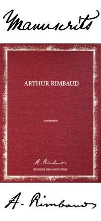 Les manuscrits de Rimbaud