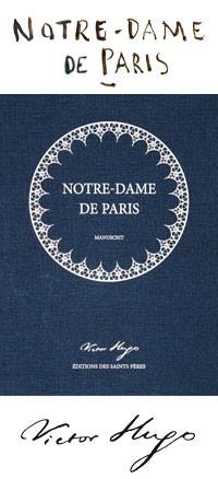 Notre Dame de Paris Livre Manuscrit
