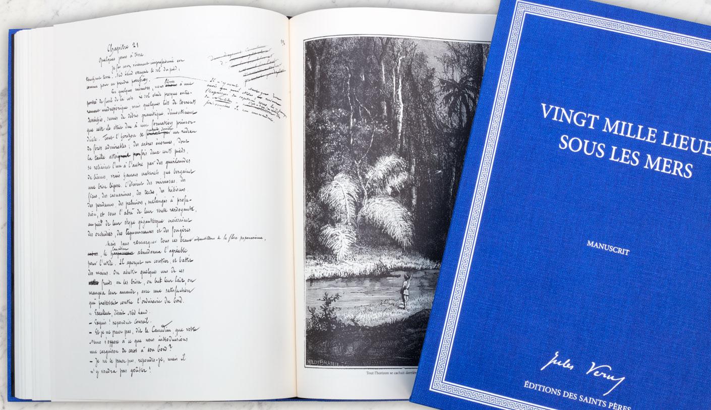 livre Verne Vingt mille lieues sous les mers