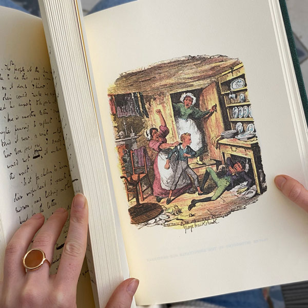 Oliver Twist, le manuscrit de Charles Dickens