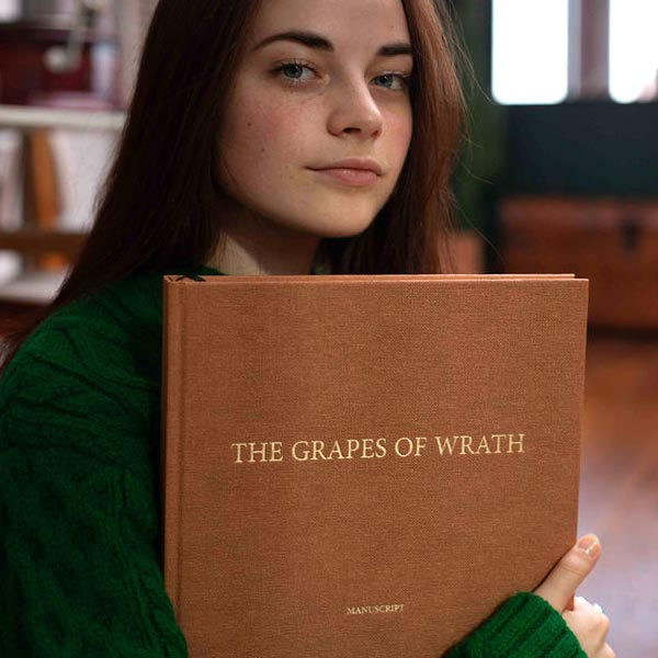 The Grapes of Wrath, le manuscrit de John Steinbeck