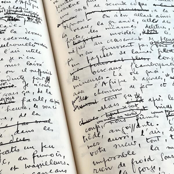 Voyage au bout de la nuit, le manuscrit de L.F. Céline